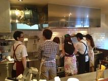 インゾーネの料理教室。