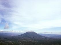 紅葉ラストのinニセコ登山