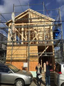 inZONE大湾、家を建てる ~episode6:我が家が上棟しました!の話
