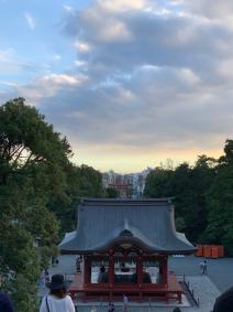 黒い柱。弾丸鎌倉旅。