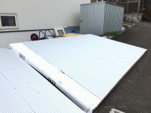 立花 初めてのパネル工法(小屋)に挑戦!