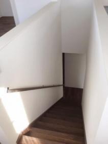 2階がワンルームの家。