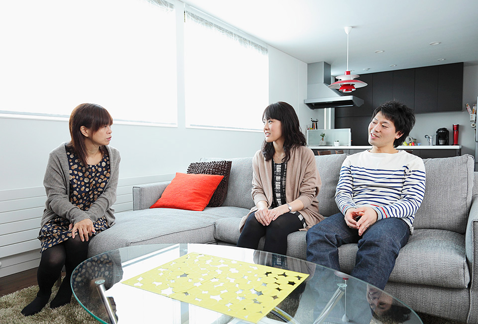 札幌の良い土地に家を建てることができた