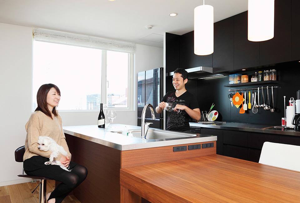 キッチンは家に合う価格やサイズに