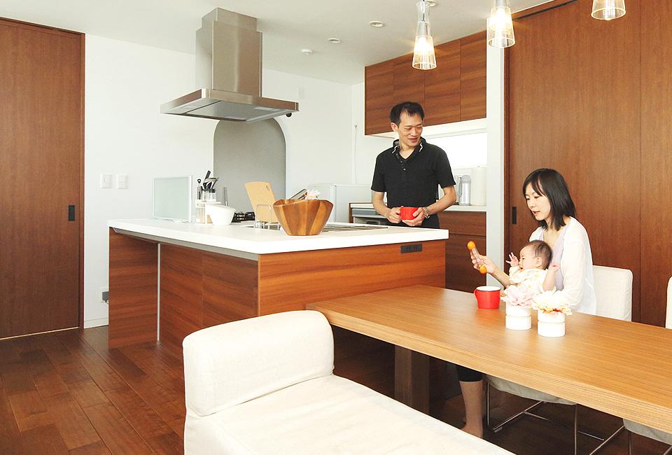 札幌の家具付き注文住宅は収納も満足