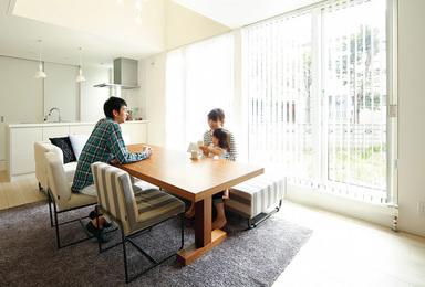 シンプルですっきりした家にしたい<br>家族の想いや理想がふくらむ住まい