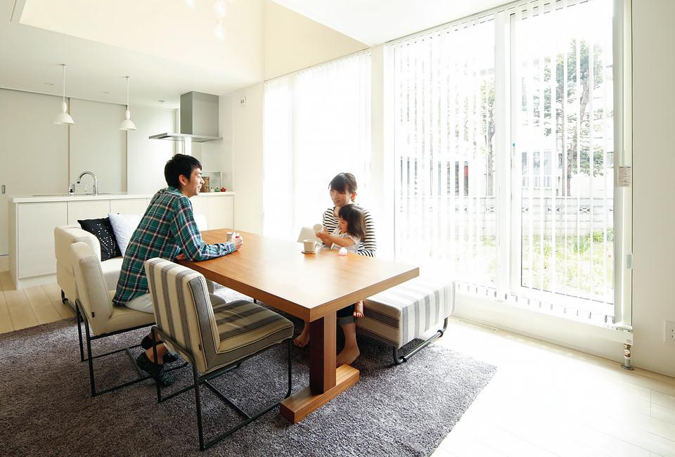 家族の健やかな暮らしを叶える家