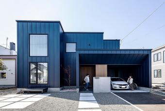 インゾーネデザインの家で<br>毎日の暮らしがランクアップ